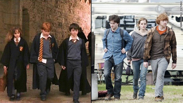 'Harry Potter' stars 10 years later