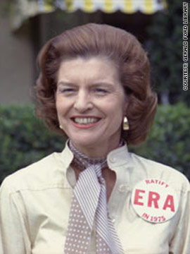 Betty Ford, 1974-1977