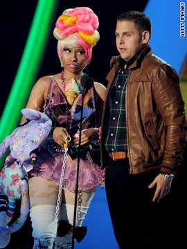 Nicki Minaj y Jonah Hill
