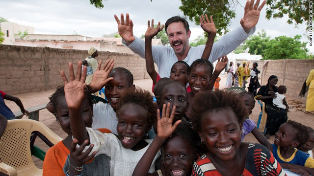  David Arquette visits Senegal with Malaria No More