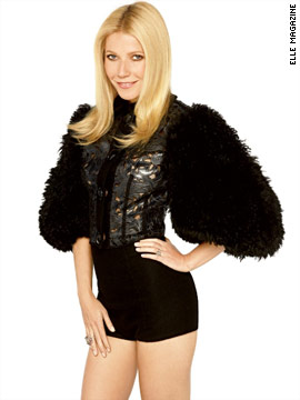 Gwyneth Paltrow in Elle magazine