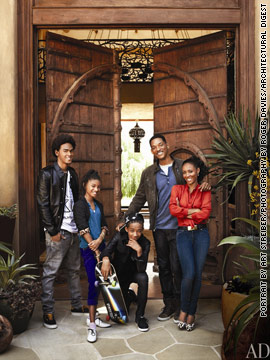 Will and Jada Pinkett Smith's home in Architectural Digest