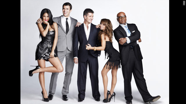 'The X Factor' cast