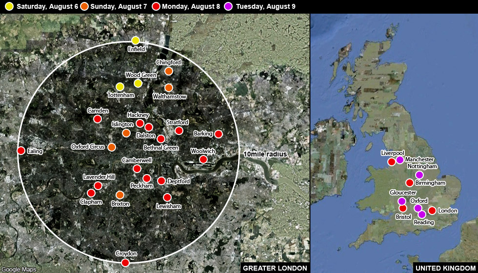 Uk riots mapping the violence cnn uk riots mapping the violence gumiabroncs