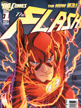 Exclusive first look at 'The Flash' #1