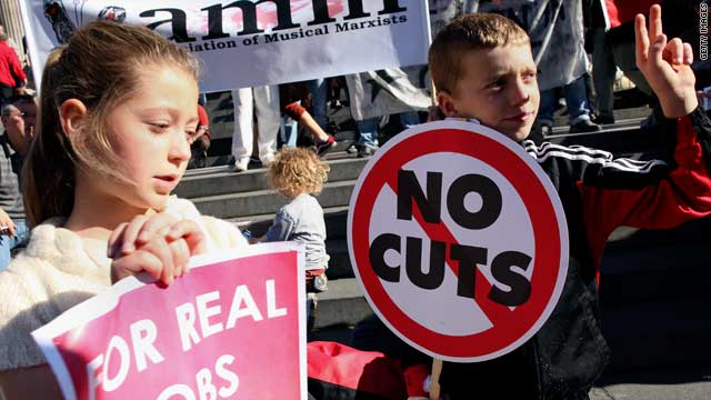 Children attend Occupy Wall Street
