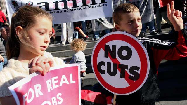 Children attend Occupy Wall Street