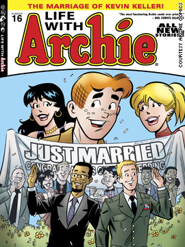 Gay marriage comes to Archie's Riverdale
