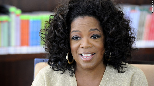 Happy birthday, Oprah!