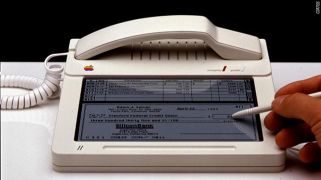 Could this have been the original Apple iPhone, 1983?