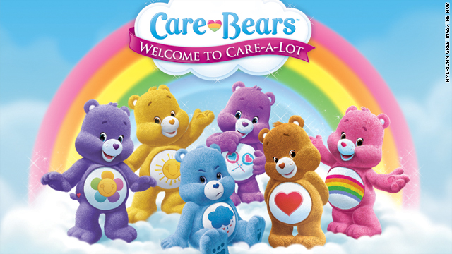 Care Bears through the years