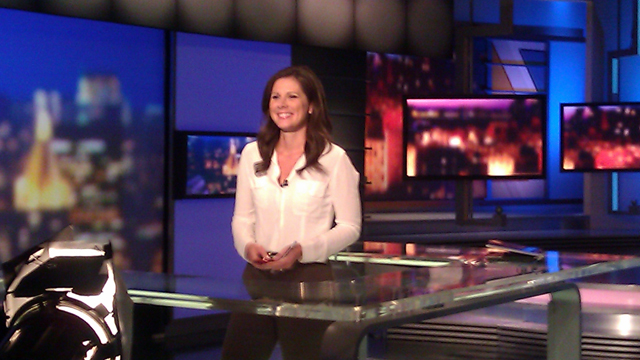 Erin Burnett anchoring 'OutFront' from NY studio