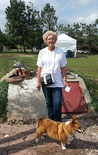 "Ann Eades plans to move into the suburbs because of the tornado. She prefers ""country living."""