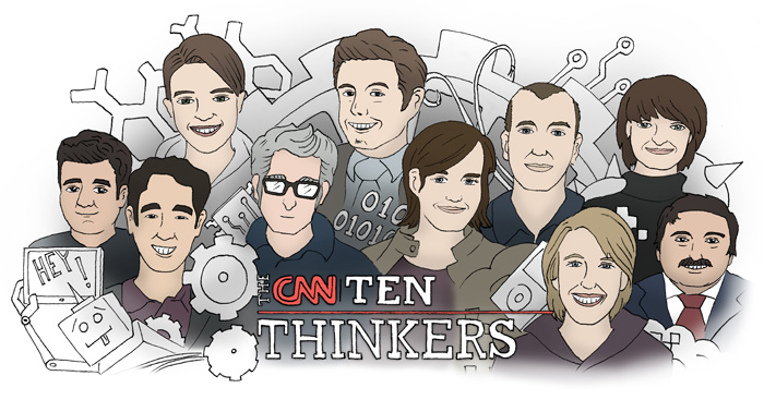 Thinkers introduction graphic