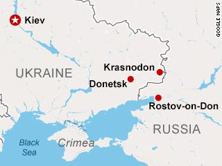 Where are the Russian forces in Ukraine?