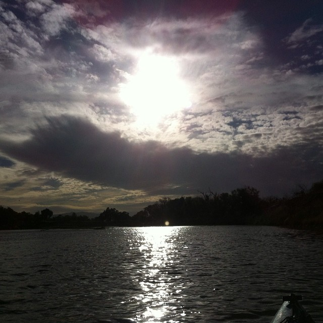I'm finally finding my groove as a kayaker.