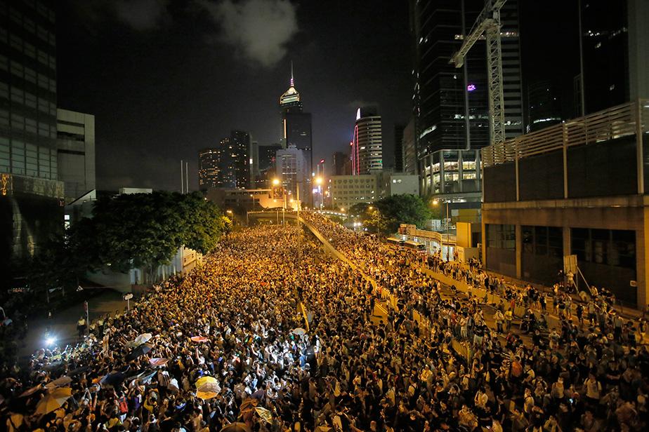 Hong Kong protests: In the thi...