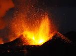 Eyjafjallajökull volcano footage