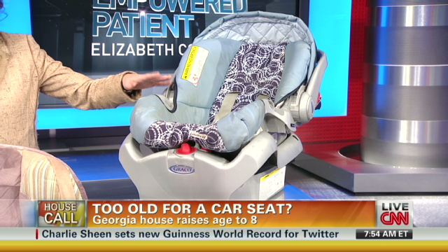 Booster seat laws: what you need to know – The Chart - CNN.com Blogs
