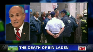 Rudy Giuliani on how New York reacted to bin Laden's death