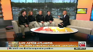 Atlantis crew on flying the last mission