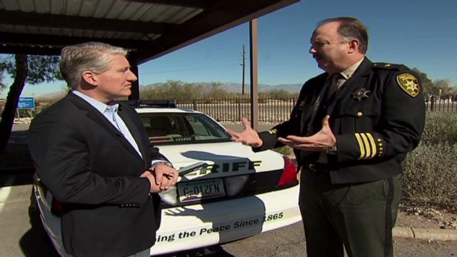 Pima County Sheriff's bureau chief talks to CNN's John King