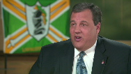 "Chris Christie blasts ""liberal"" thinking"