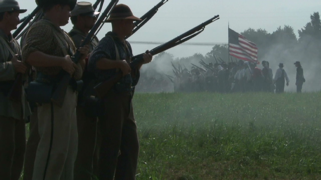 War re-enactment to bring much-needed money to small town