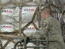 U.S. aid reaches Myanmar