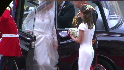 Kate Middleton arrives for her big day