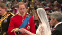 William, Catherine exchange vows