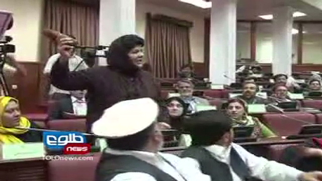 Two female MPs brawl in Afghan parliament