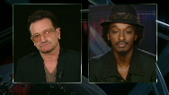 Interview with Bono and K&#039;naan