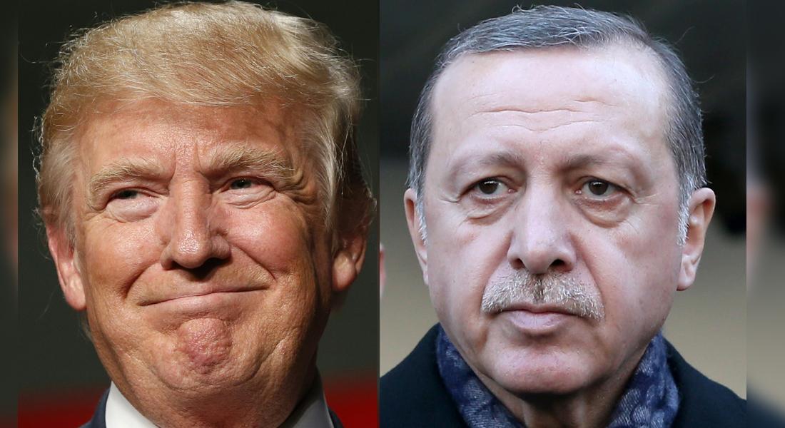 بعد مناقشته تأسيس مناطق آمنة في سوريا مع الملك سلمان.. ترامب يثير القضية مع أردوغان - CNNArabic.com