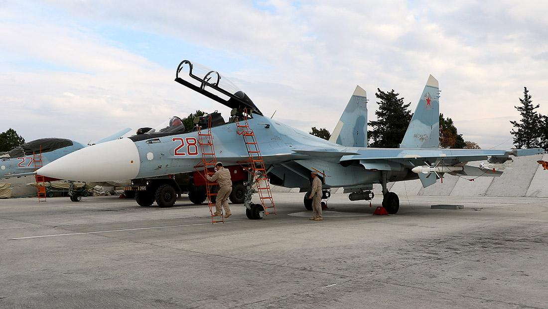 الطائرات الروسية تقلع من  كل الأماكن الممكنة  لقصف مواقع في سوريا  - CNNArabic.com