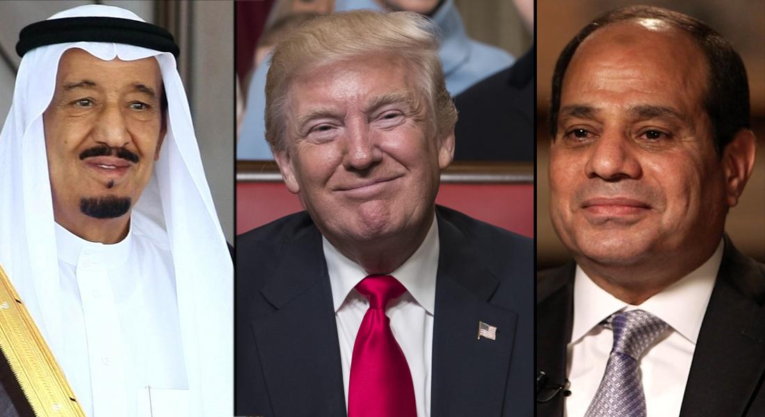 الملك سلمان والسيسي يهنئان ترامب بتنصيبه - CNNArabic.com