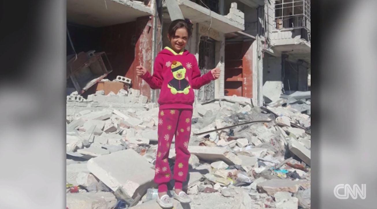 حلب.. حذف حساب الطفلة السورية بانا العابد من  تويتر  - CNNArabic.com