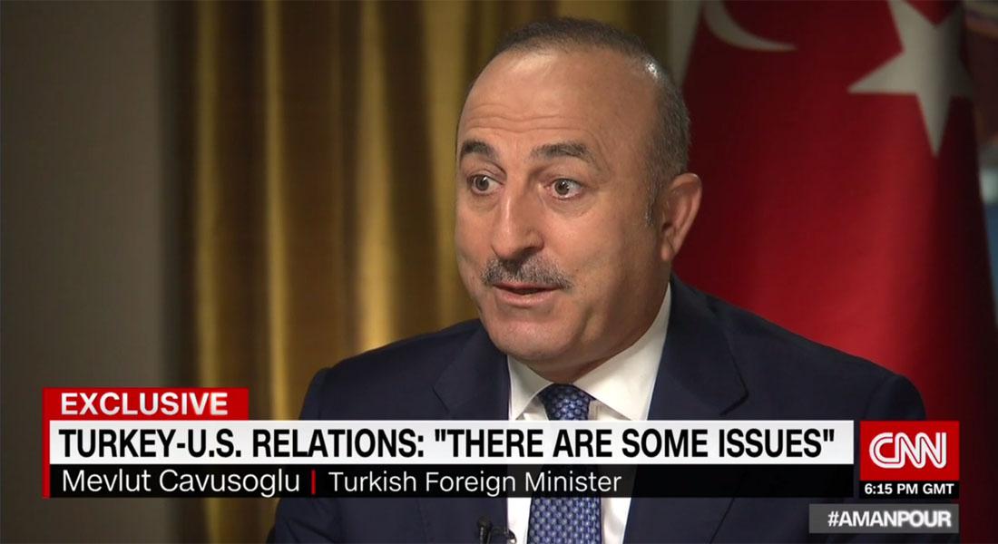 وزير خارجية تركيا لـCNN: هزم داعش سهل ولكن بعمليات برية - CNNArabic.com