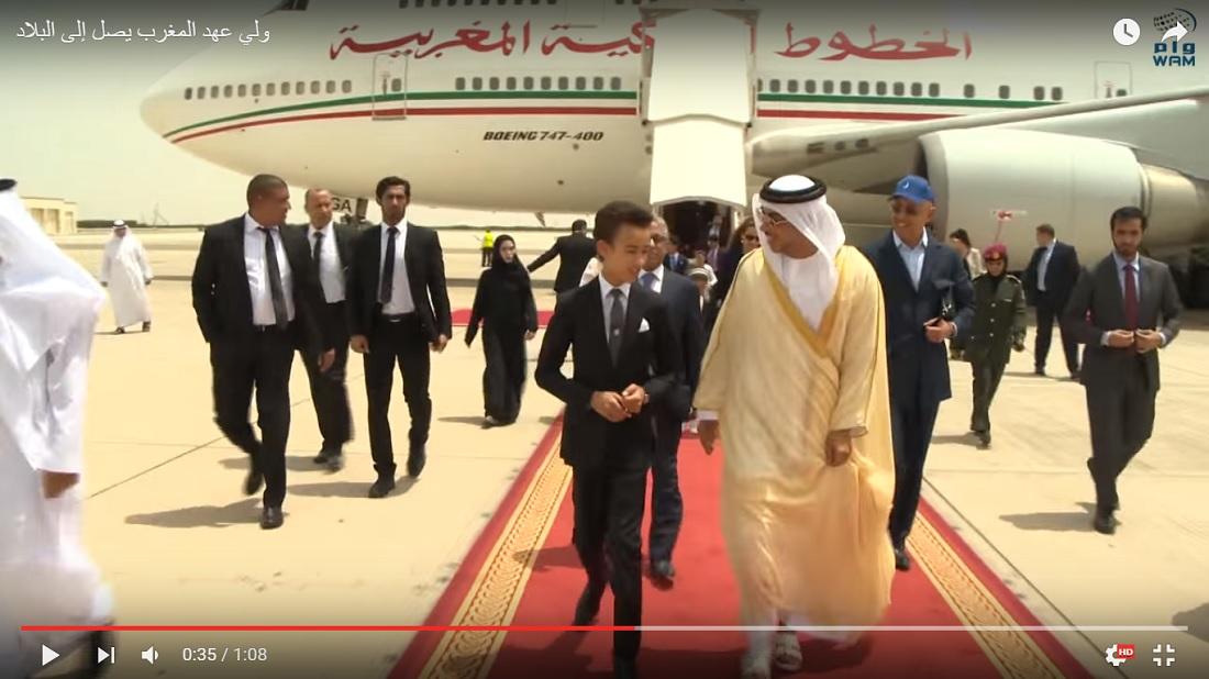ولي عهد المملكة المغربية يحتفل بعيد ميلاده في الإمارات - CNNArabic.com