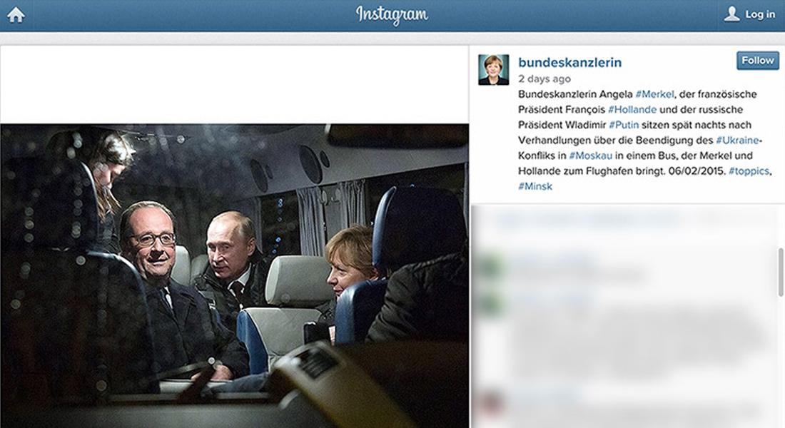 ميركل تنضم إلى عائلة  انستغرام  بصور  عفوية  لنشاطاتها الرسمية - CNNArabic.com
