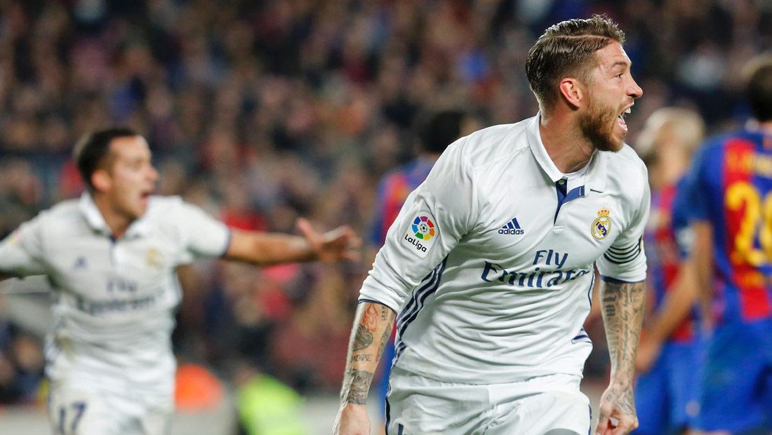 راموس يخطف نقطة التعادل للريال أمام برشلونة - CNNArabic.com