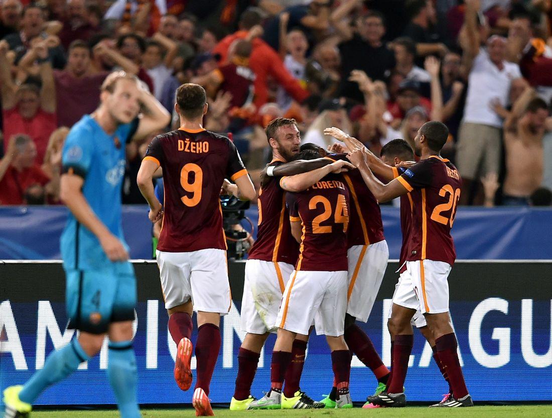 بهدف خرافي.. روما يتعادل مع برشلونة في دوري أبطال أوربا - CNNArabic.com