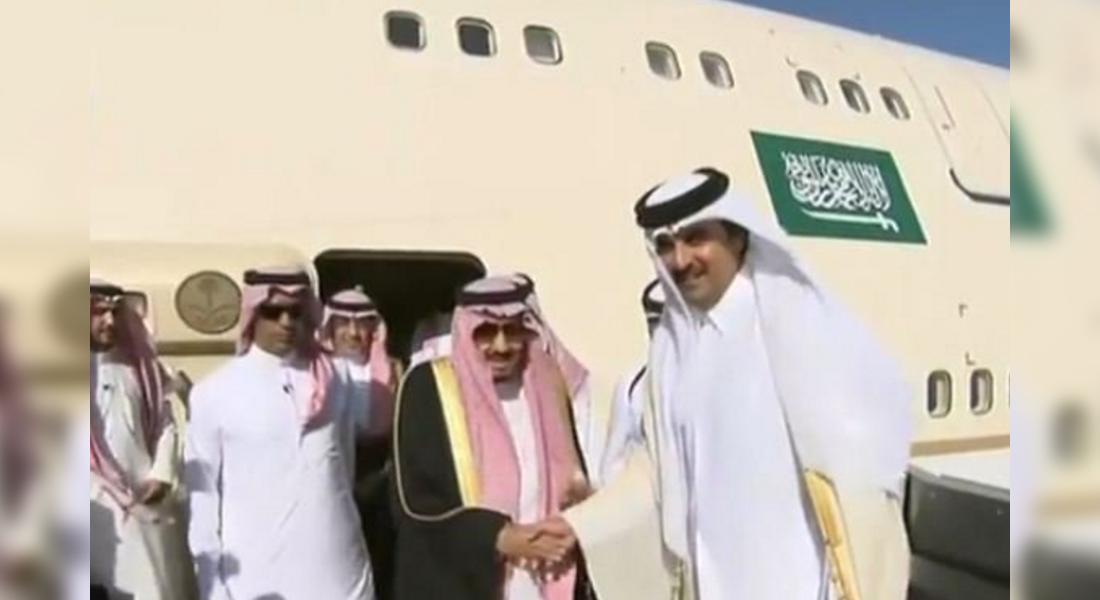 الملك سلمان يشكر الإمارات على  حفاوة الاستقبال .. ويصل قطر في ثاني محطة بجولته الخليجية  - CNNArabic.com
