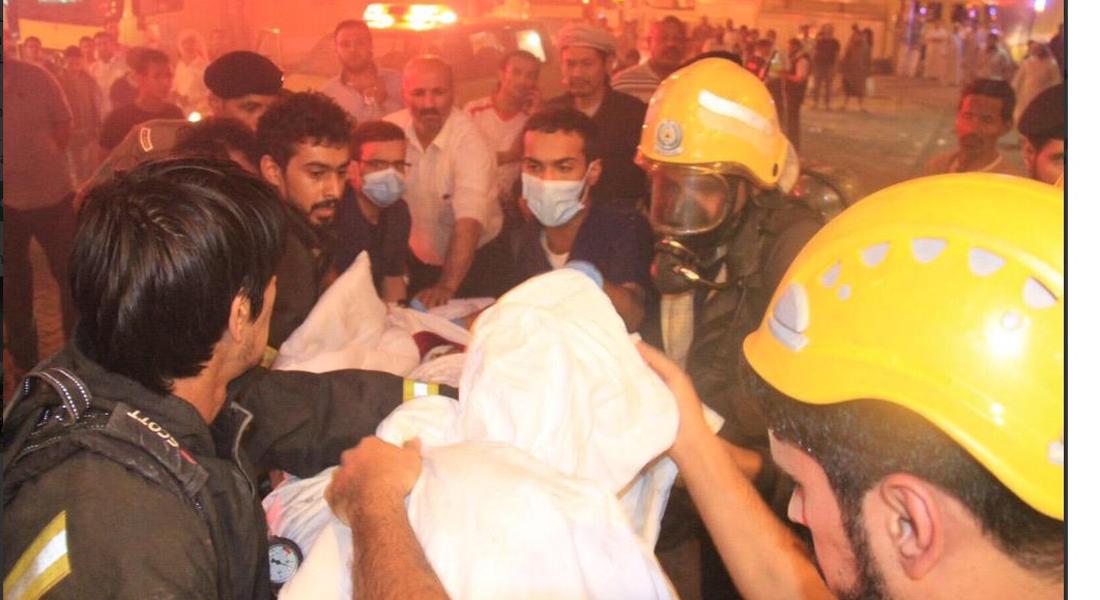 السعودية: إنقاذ أكثر من ألف حاج من حريق فندق في مكة.. وتدريبات على مواجهة السيول في عرفات - CNNArabic.com