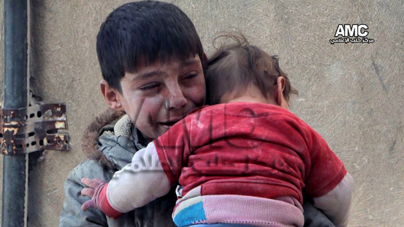 مأساة سوريا دليل تذرفها دموع