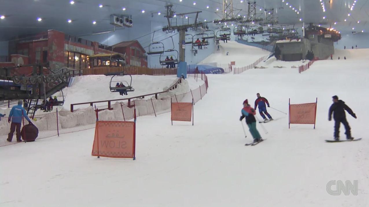 هل جربت متعة التزلج على الثلج في دبي؟ - CNNArabic.com