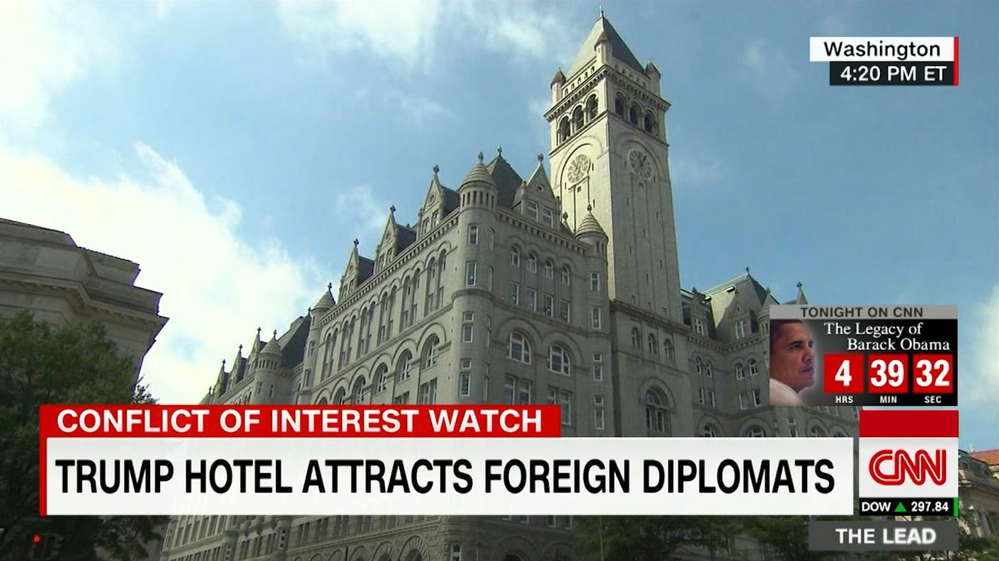 قلق من  تضارب المصالح  بعد احتفال بحريني في فندق ترامب - CNNArabic.com