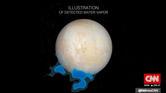 ناسا: اكتشاف أعمدة مياه على أحد أقمار كوكب المشتري