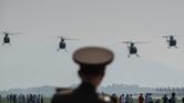 """كوريا الشمالية تستعرض """"قدراتها"""" الجوية"""