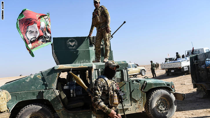 معركة الموصل: القوات العراقية تدخل الحمدانية.. وتتقدم نحو تلكيف